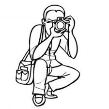 Small Picture Digital Camera with Flash Light in Photography Coloring Page