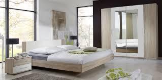Schlafzimmer Komplett 4 Teilig Franziska Struktureiche Hell Weiß