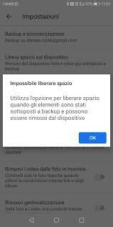 Problema col backup su Google foto - Guida di Google Foto