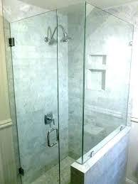 shower door cost glass doors within of renovation enclosure installation s enclosures sliding tub frameless per