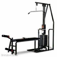 York 2001 Multi Gym Wall Chart Sports Equipment Companies