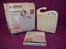 kenmore hepa air cleaner. kenmore 42-83244 hepa air cleaner with extra filter in damaged original box guc hepa