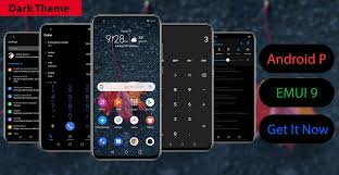 Android 8 Design Android P Dark Stock Theme Exclusive For Emu Honor 8x