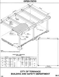 covered patio building plans design