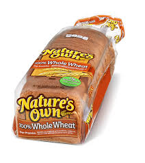 100 Whole Wheat Natures Own Bread