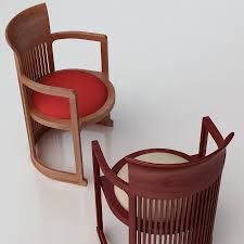 chair design ideas. Sweet Home Interior Decoration With Frank Lloyd Wright Barrel Chair Design Ideas : Comely E