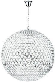 crystal globe chandelier crystal globe chandelier luxury crystal globe chandelier or fiesta large modern light crystal globe pendant chrome crystal globe