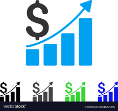 Sales Chart Sales Growth Chart Flat Icon