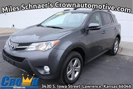 Used One-Owner 2015 Toyota RAV4 XLE - Lawrence KS - Crown Toyota ...