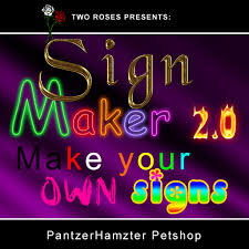 Custom Neon Sign Generator Second Life Marketplace SignMaker24 Make Your Own Custom Signs 11