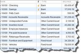 Assets Liabilities Equity Chart Quickbooks Custom Fields An Overview