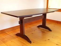 round shaker dining table shaker style dining table custom handmade shaker walnut trestle table shaker style