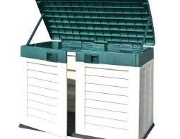 plastic outdoor storage cabinet. Garden Storage Cabinet Plastic Outdoor Bench Large Outside Extra A