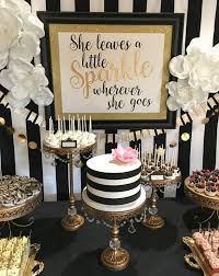 kate spade inspired party theme back drop