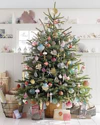 Coastal Beach Christmas Tree Decorating Ideas #CoastalBeachChristmas