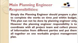 l1 introduction to planning engineer job role material planner job description
