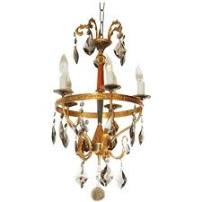 italian chandelier style pertaining to popular neoclassical style brass and smoked crystal italian chandelier view