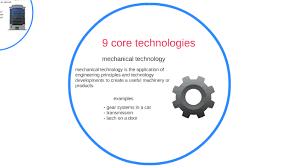 9 Core Technologies 9 Core Technologies By Varsahngi Patel On Prezi