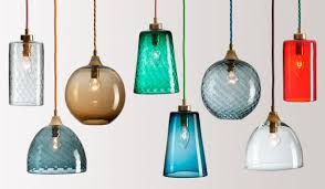 hand blown glass lamp shades handblown contemporary lighting colourful beautiful things 5