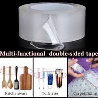 <b>Multi</b>-<b>function Magic Tape</b> Washable <b>Seamless</b> Double-sided ...