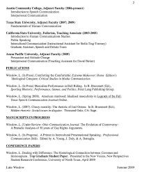Communication Skills Resume