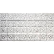 glue up tin style white ceiling