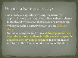 the narrative essay a story or account of events experiences or  what is a narrative essay