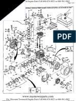 Tecumseh Service Manual | Carburetor | Throttle