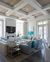seaside bedroom furniture. living room with rustic coffered ceiling wood the coffers are hollow boxes wrapped in sheetrock a big crown over pickled pecky cypress seaside bedroom furniture