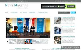 Newspaper Web Template Free News Site Template Free Download High Quality Website