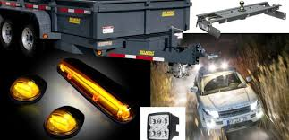 hitches trailiers and trailer lights