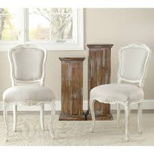 safavieh old world dining provence antiqued french dining chairs set of 2