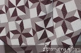 Piece N Quilt: Alternating Stars - A Modern One-Block Quilt & Alternating Stars - A Modern One-Block Quilt Adamdwight.com