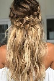 Image Coiffure Tresse Mariage Coiffure Cheveux Mi Long