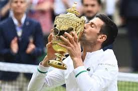 Novak Djokovic wins Wimbledon final for ...