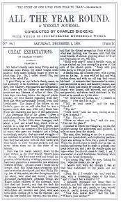 literary encyclopedia great expectations image the first publication of great expectations