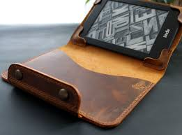 kindle paperwhite leather case rust brown product images of