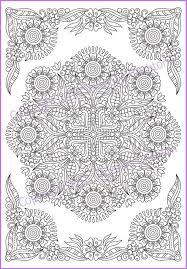 Zentanglehouse Mandala Coloring Page Pdf Doodle Zentangle Art