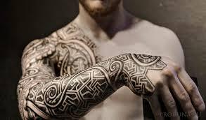 татуировки с рунами