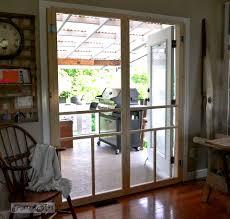 patio door with screen. Installing Screen Doors On French DoorsEasy And Cheap! Via Funky Junk Patio Door With O