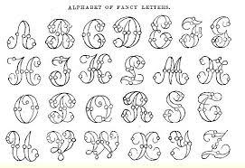 8 Best Images Of Printable Fancy Alphabet Letters