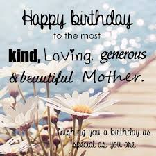 Beautiful Birthday Quotes For Mom
