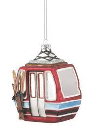 Gondola Ski Ornament