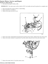starter wire diagram 3400 sfi starter image wiring how to replace 2004 chevy impala starter on starter wire diagram 3400 sfi