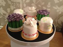 These Are Some Sample Mini Cakes For A Wedding Consultation Cake