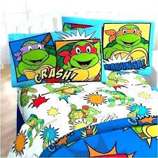 Teenage Mutant Ninja Turtle Bed Sheets Ninja Turtles Bed Set Teenage ...