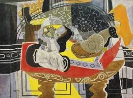 glancing at one or two of braque s paintings in a casual stroll through a museum cannot compare with experiencing side by side and chronologically