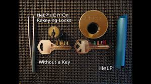 44] DIY How To Easily Rekey Your Door Without A Key - YouTube