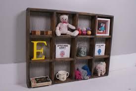 childrens wooden storage vintage 1