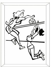 Small Picture Printable Volleyball Coloring Pages Coloring Me